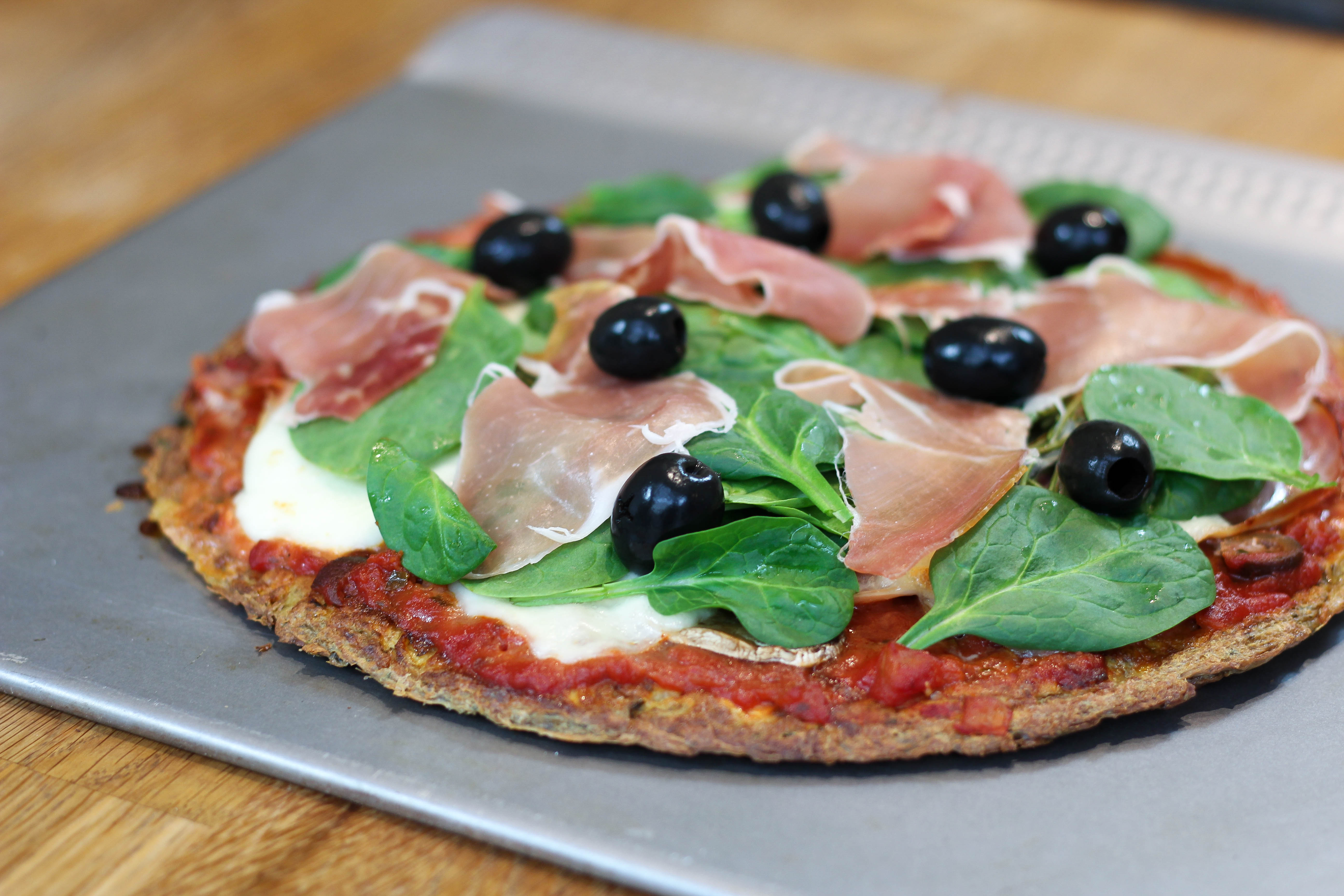 Omelette façon pizza italienne
